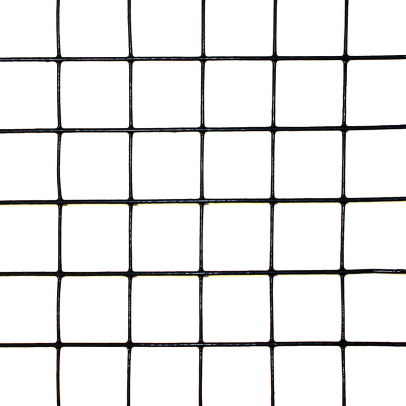 "3' x 100' Welded Wire-19 ga. galvanized steel core; 17 ga after PVC-Coating, 1"" x 1"" Mesh"