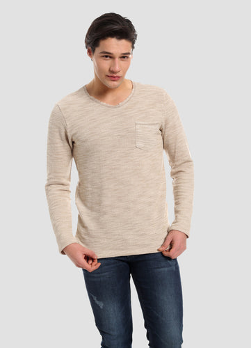 Jerusalem style men´s top in organic cotton