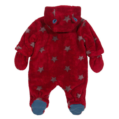 Starry Fleece Snowsuit