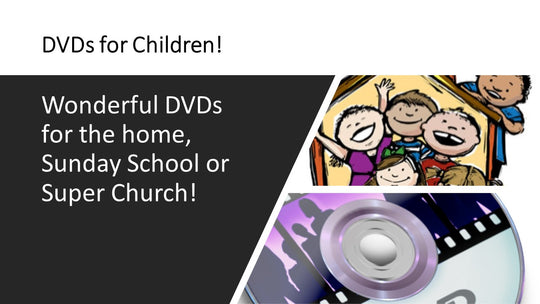 Children's DVDs and CDs