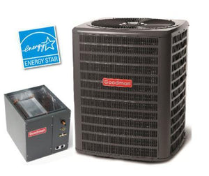 Goodman 1.5 Ton 16 Seer A/C & Cased Coil, Goodman A/C & Cased Coil - Comfort Depot Gaithersburg