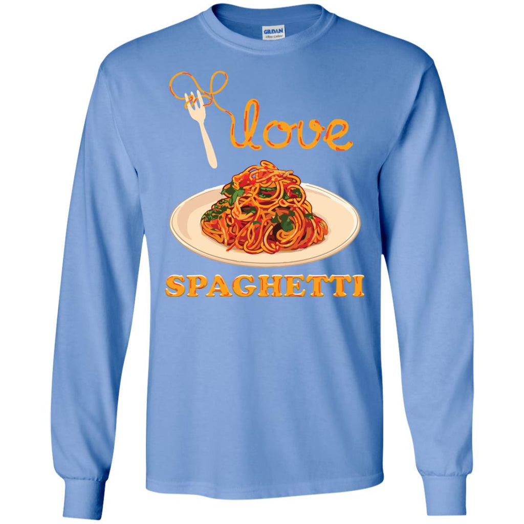 I Love Spaghetti Long Sleeve