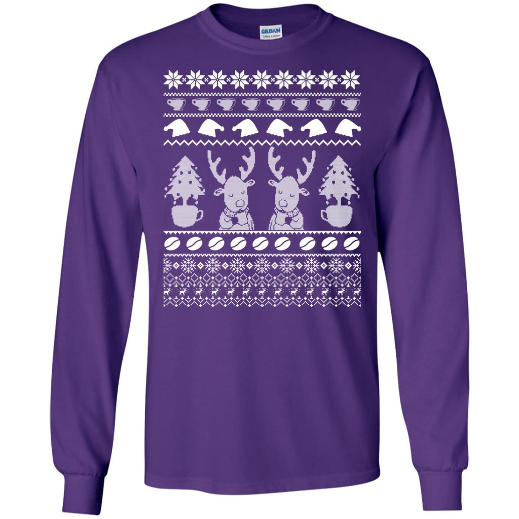 CHRISTMAS COFFEE Long Sleeve