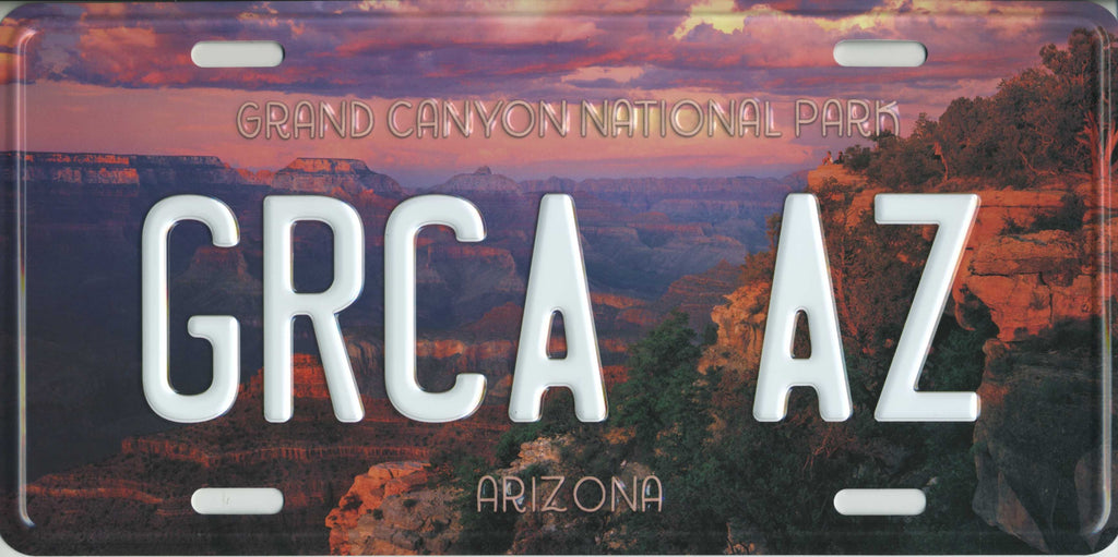 Grand Canyon National Park License Plate