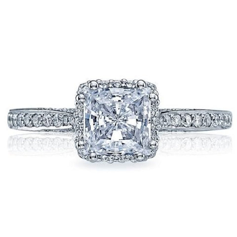 Tacori Pave Diamond Engagment Ring