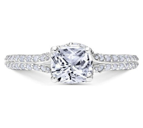 Scott Kay 14k White Gold Guardian Engagement Ring