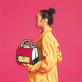 Outer Red Stripe Handbag - JumpFromPaper
