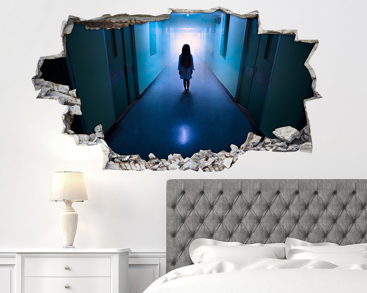 Horror Haunted Child Bedroom Decal Vinyl Wall Sticker A126