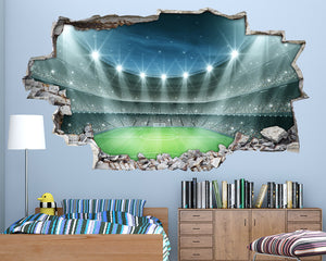 Flood Light Football Stadium Boys Bedroom Decal Vinyl Wall Sticker A135