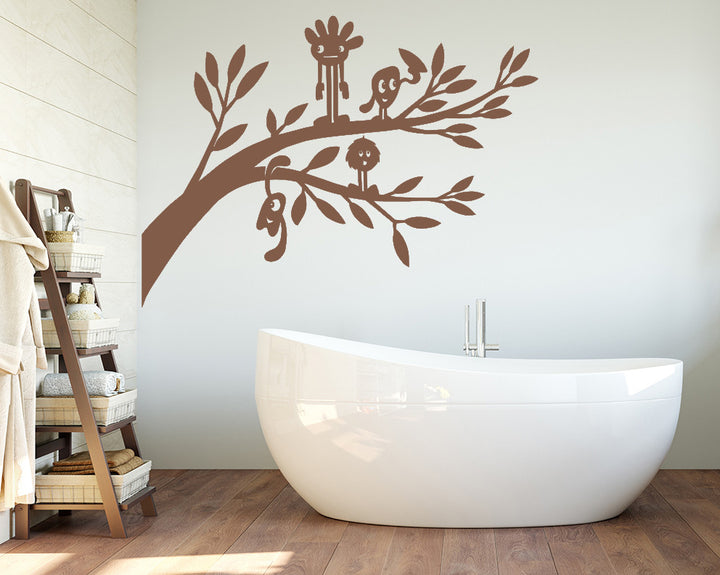 Tree Branch Decal Vinyl Wall Sticker