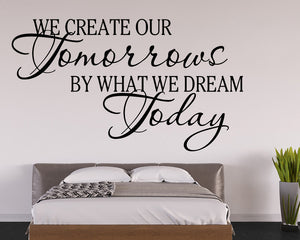 Dream Quote Decal Vinyl Wall Sticker