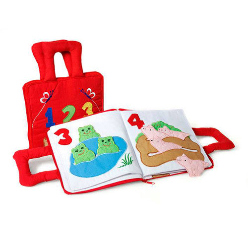 Oskar&Ellen - Interactive Books (123 Counting Book)-Binky Boppy