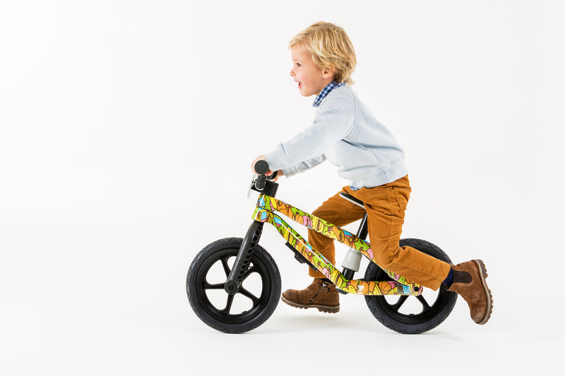 Chillafish - BMXie-RS Balance Bike FAD Edition (Xplorer)-Binky Boppy