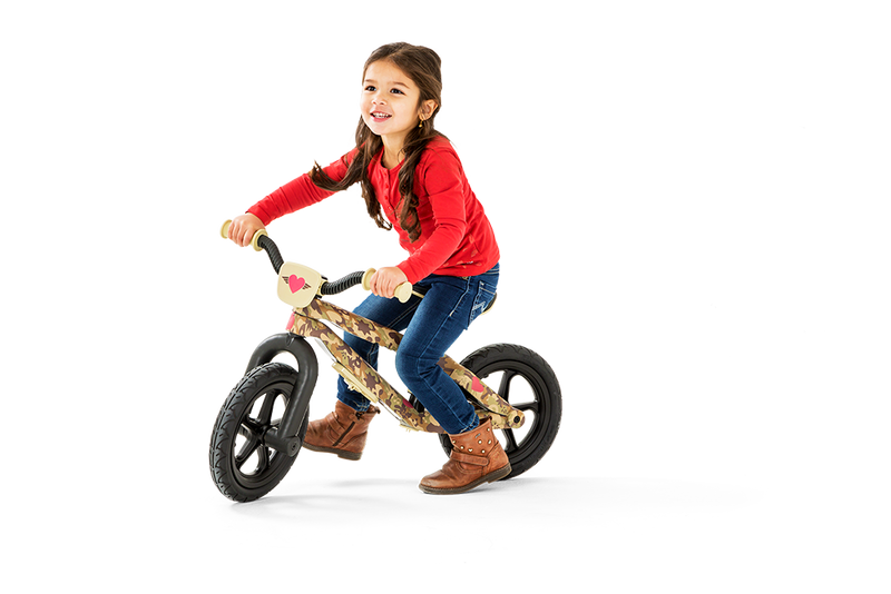 Chillafish - BMXie-RS Balance Bike FAD Edition (Sergeant Heart)-Binky Boppy