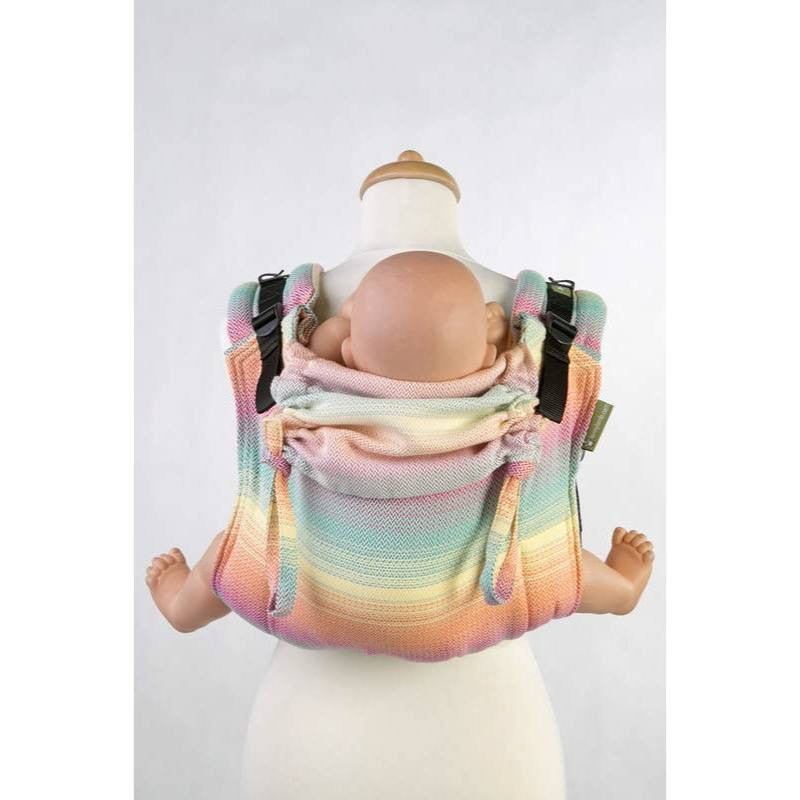 LennyLamb - Little Herringbone Imagination Buckle Onbu-Binky Boppy
