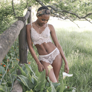 Indie Bralette in Porcelain Doll