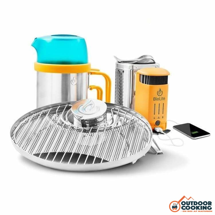 BioLite CampStove 2 Bundle - Outdoor Cooking