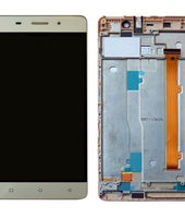 Gionee M5 Lite Display and Touch Screen Combo With Outer Frame - TOUCH LCD HOUSE