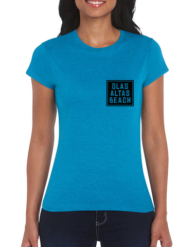 Ladies Square Logo T-Shirt