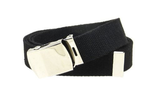 Web Belt with Buckle Military Style