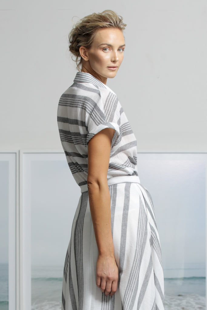 ELIO TOP - STRIPE