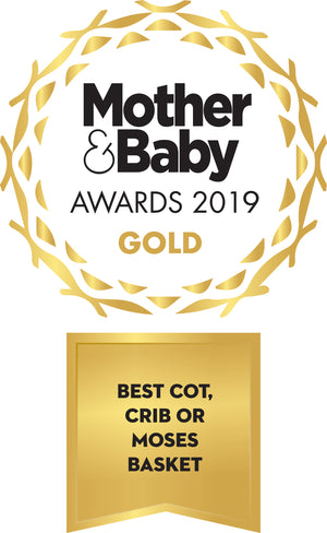Mother & Baby Gold Award 2019 - Best Cot, Crib or Moses Basket