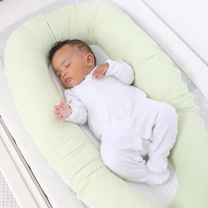 Breathable Baby Nest Moss Green