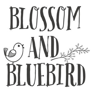 Blossom and Bluebird logo