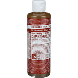 Eucalyptus Castille Soap;made With Organic Ingredients