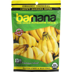 Barnana Banana Bites - Organic - Original - 3.5 Oz - Case Of 12