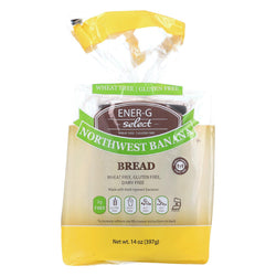 Ener-g Foods Select Bread - North West Banana - Case Of 6 - 14 Oz.