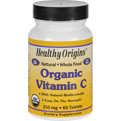 Healthy Origins Vitamin C - Organic - 250 Mg - 60 Tablets