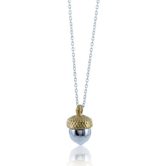 Acorn Necklace - MODAMEDINA