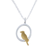 SINGLE BIRD NECKLACE - MODAMEDINA