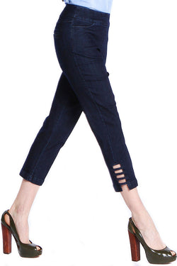 CROP PANT - DENIM