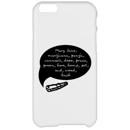 Weed Words iPhone 6 Plus Case