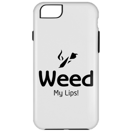 Weed My Lips iPhone 6 Plus Tough Case