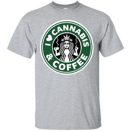 Cannabis And Coffee T-Shirt