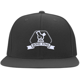Bong King Flat Bill Cap