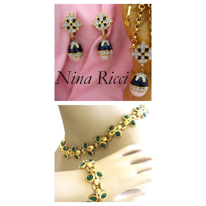 Women's fashion Jewellery by Nina Ricci - Jewelry Bubble