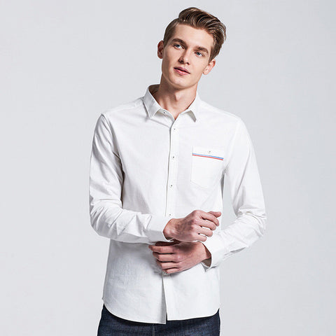 BestOnlinePioneer Camp Long sleeve Casual Shirt For Men