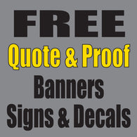 Request FREE Quote and Proof