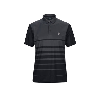 GreenRabbit Golf, Peak Performance, Bandon PRPO Golf Polo Herren-Shirt Iron Cast, T-Shirt - GreenRabbit Golf GOLFFASHION & LIFESTYLE
