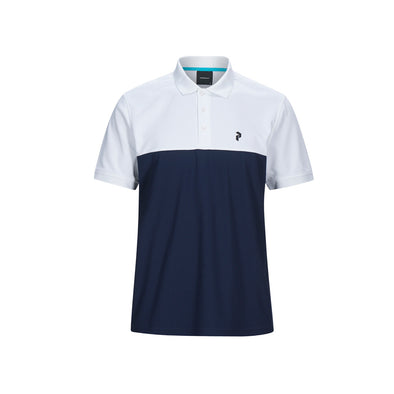 GreenRabbit Golf, Peak Performance, Spin Polo Herren-Shirt Blue Shadow, T-Shirt - GreenRabbit Golf GOLFFASHION & LIFESTYLE