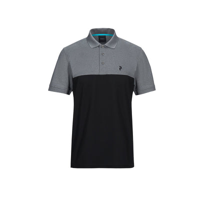 GreenRabbit Golf, Peak Performance, Spin Polo Herren-Shirt Black, T-Shirt - GreenRabbit Golf GOLFFASHION & LIFESTYLE