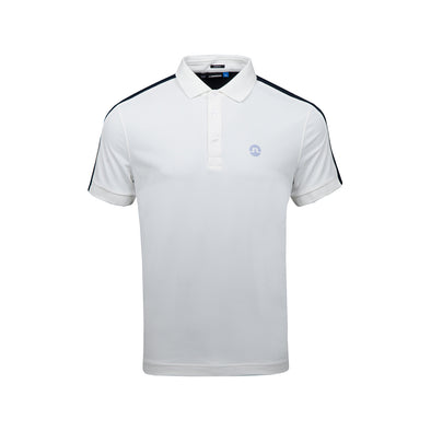 GreenRabbit Golf, J. Lindeberg, Tane Slim TX Troque White, T-Shirt - GreenRabbit Golf GOLFFASHION & LIFESTYLE