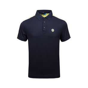GreenRabbit Golf, J. Lindeberg, Tane Slim TX Troque Black, T-Shirt - GreenRabbit Golf GOLFFASHION & LIFESTYLE