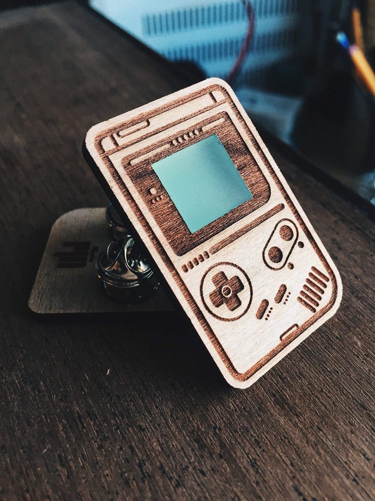 Lauren Kerwell Gameboy Wooden Pin