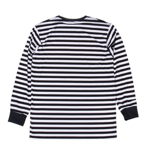 "Graveyard Striped L/S ""Red"""