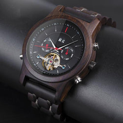 A Few Wood Men's Something to Remember Luxury Wooden Watch - A Few Wood Men